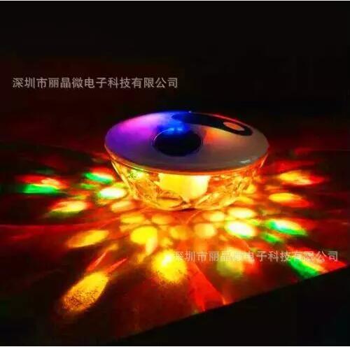 遥控定时七彩闪灯IC芯片 喷泉灯专用IC