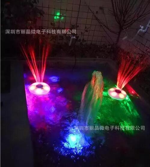 红外遥控喷泉灯 5小时-19小时循环定时芯片