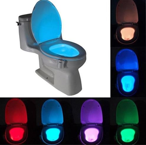 人体感应LED马桶夜灯芯片方案