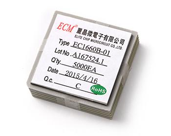 手指陀螺 陀螺闪灯芯片 闪灯IC芯片6闪灯 EC1660B-01