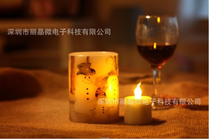 蜡烛闪灯IC芯片