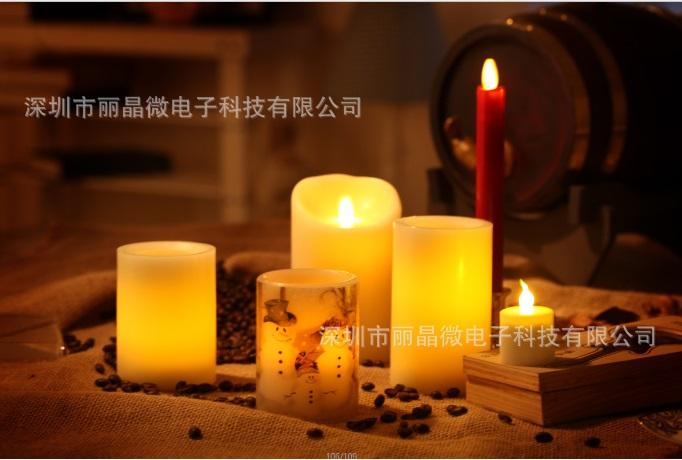 循环定时蜡烛IC芯片