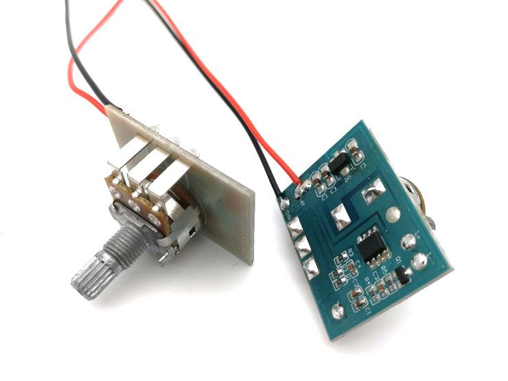 电位器调光板,旋钮调光控制板