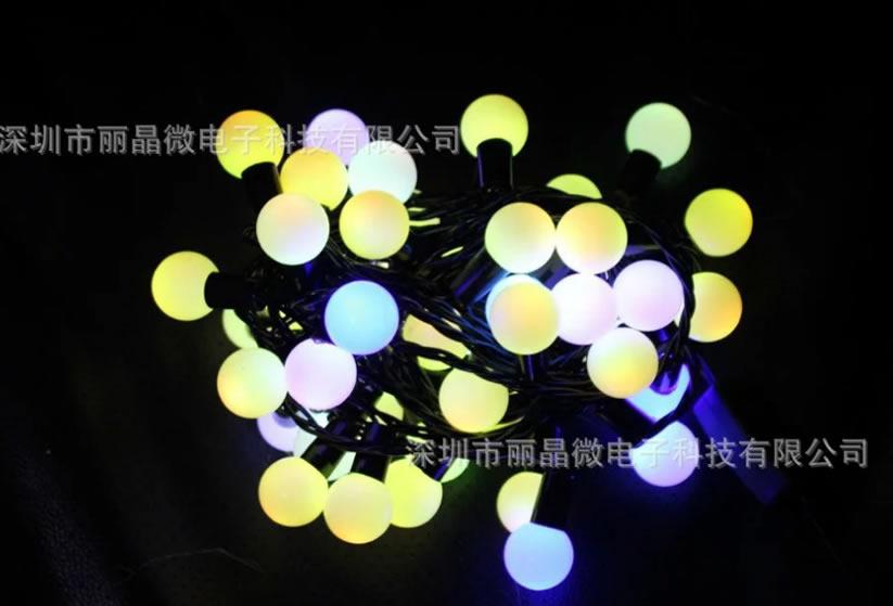 4路多功能闪烁灯串IC