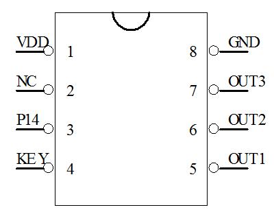 A209-588B 触发开关IC