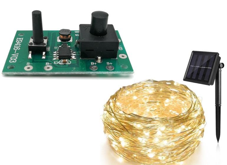 太阳能灯串PCBA(200灯)