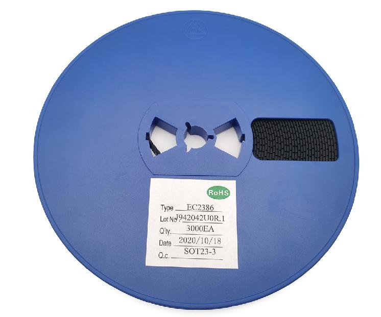 EC2386低待机功耗同步升压DC-DC芯片